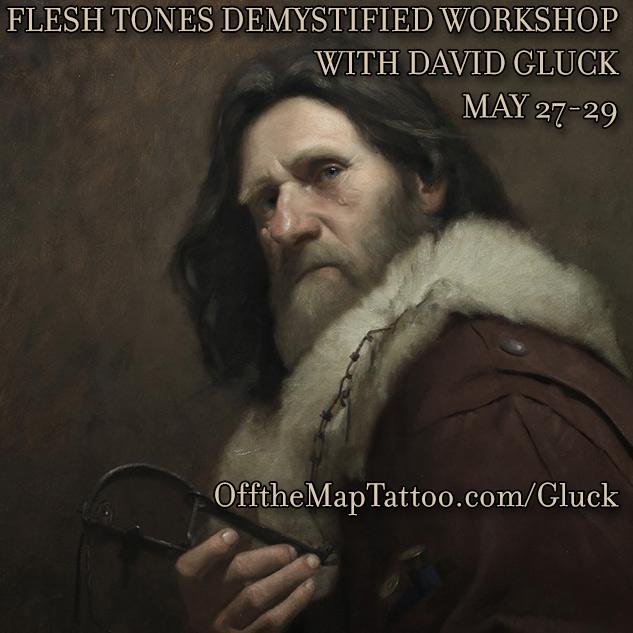Flesh Tones Demystified Workshop with David Gluck