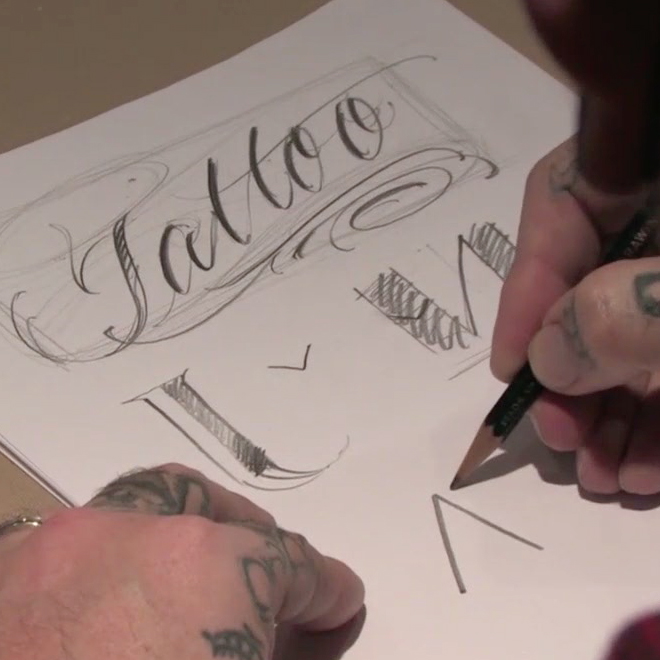 BJ betts lettering webinar thumbnail
