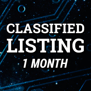 Classified Listing 1 month