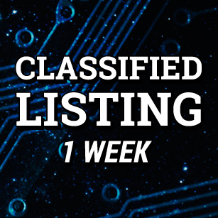 Classified Listing 1 Week