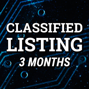 Classified Listing 3 Months