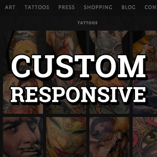 Custom Responsive Website