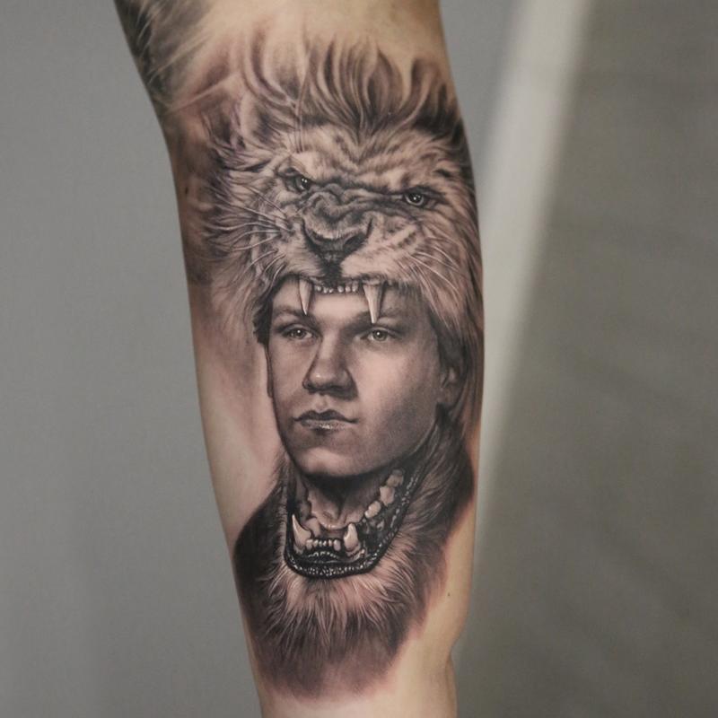 Stefano Realism Tattoo