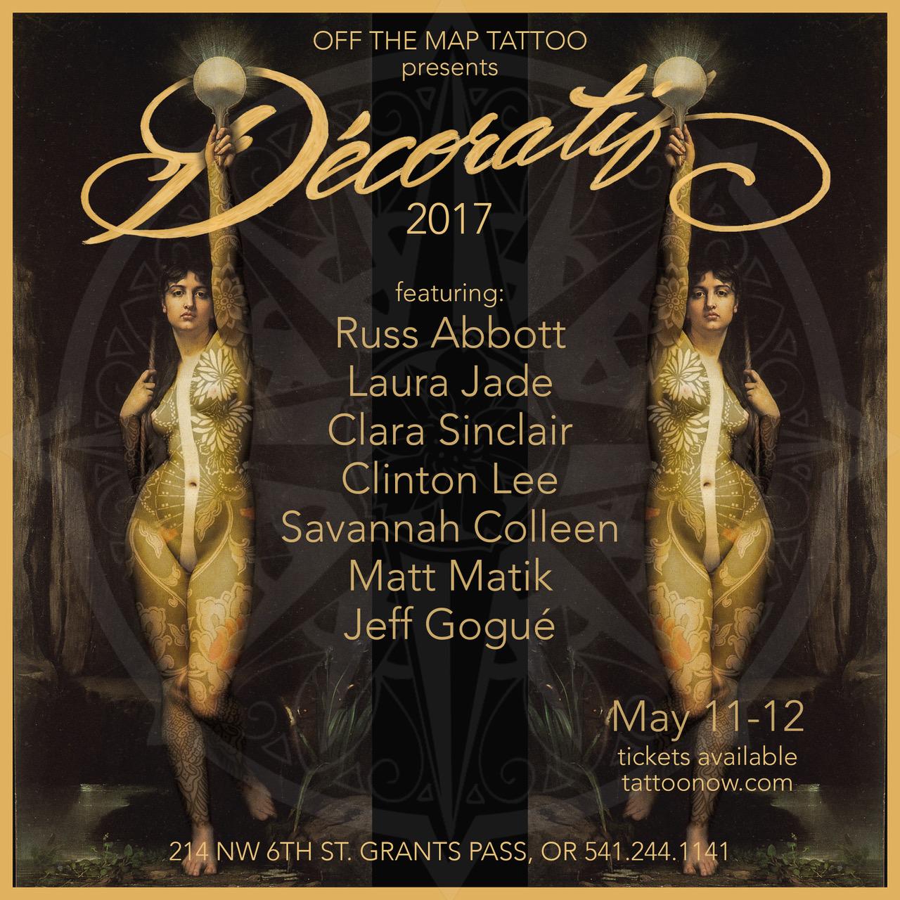 Decoratif Webcast THURS. MAY 11