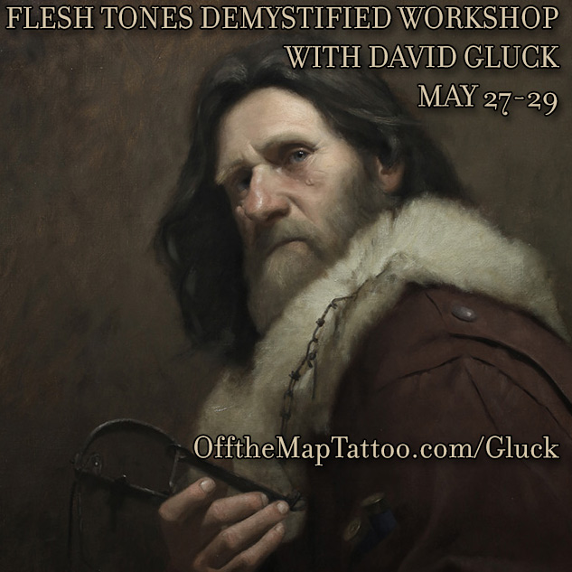Flesh Tones Demystified Workshop with David Gluck May 28-29 Easthampton MA
